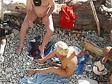 Bumsen am Strand lockt Zuschauer