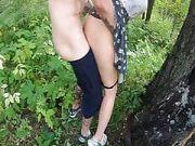 Zwei 18 Jährige haben Sex im Wald