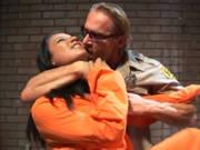 Heftiger Latina-Fick im Gefängnis
