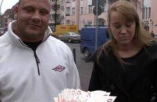 Fick mit Tittenbesamung für Taschengeld