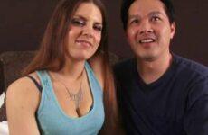 Asiate und seine Freundin ficken beim Casting